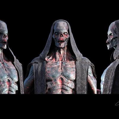 Constantine sekeris black skull w robe 02cc