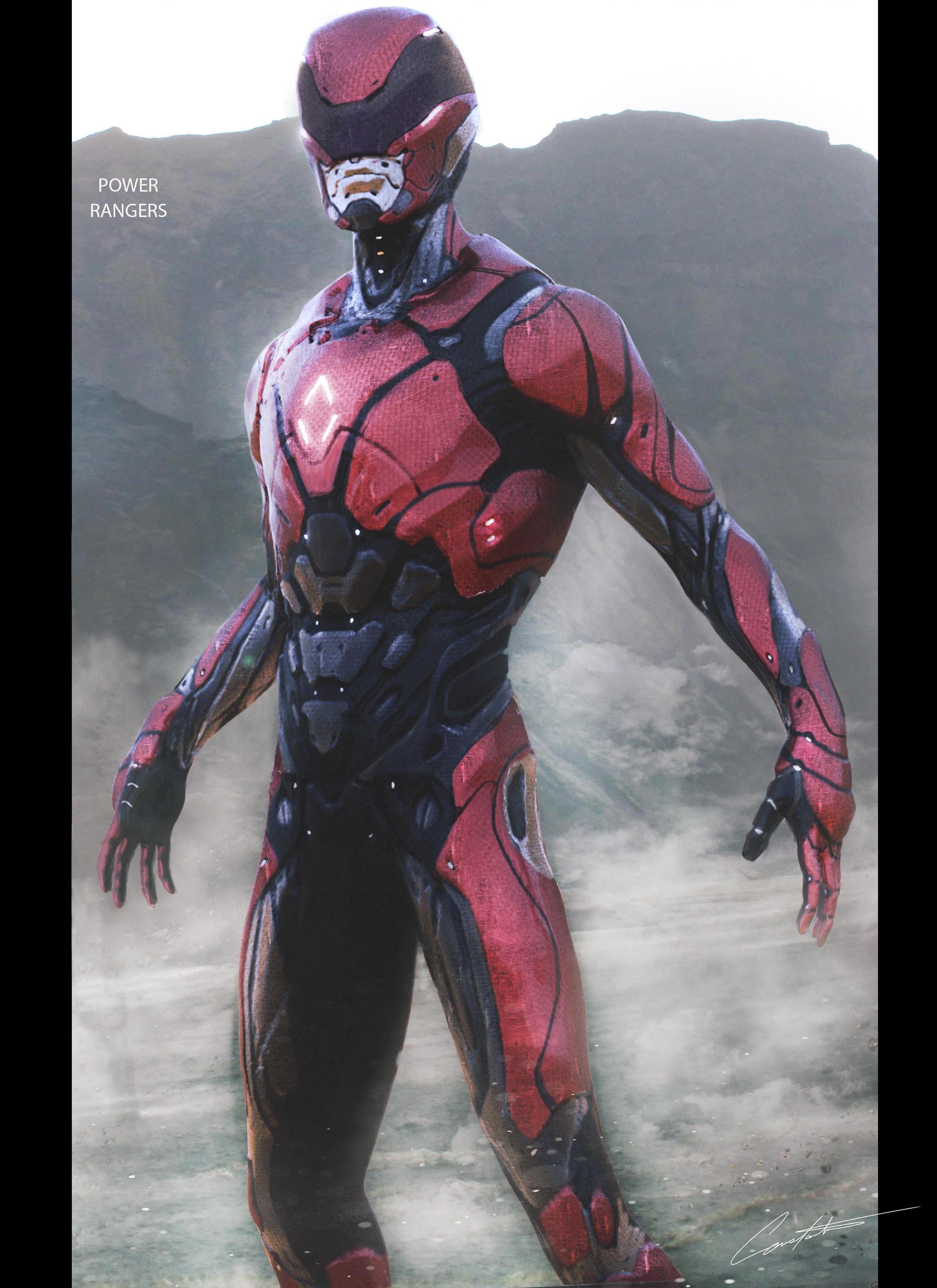 Power Rangers Red Ranger Design