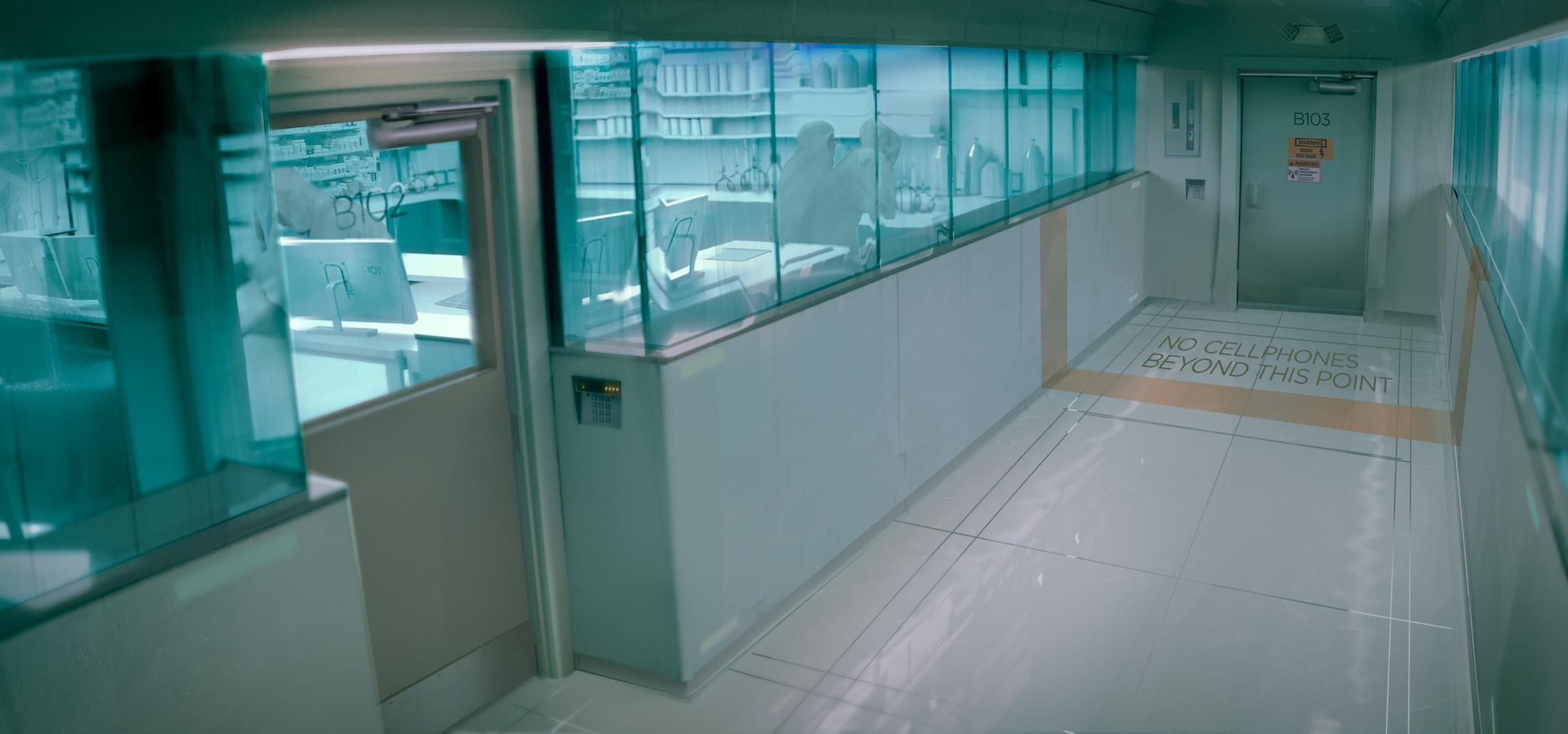 Lab Hallway