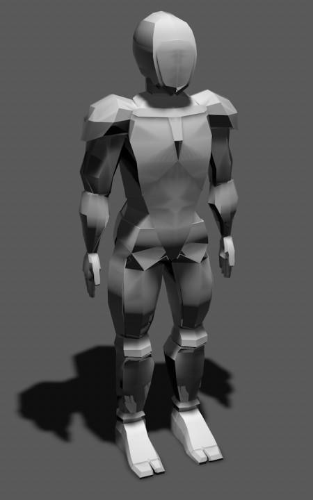 Charlotte higton robot thin