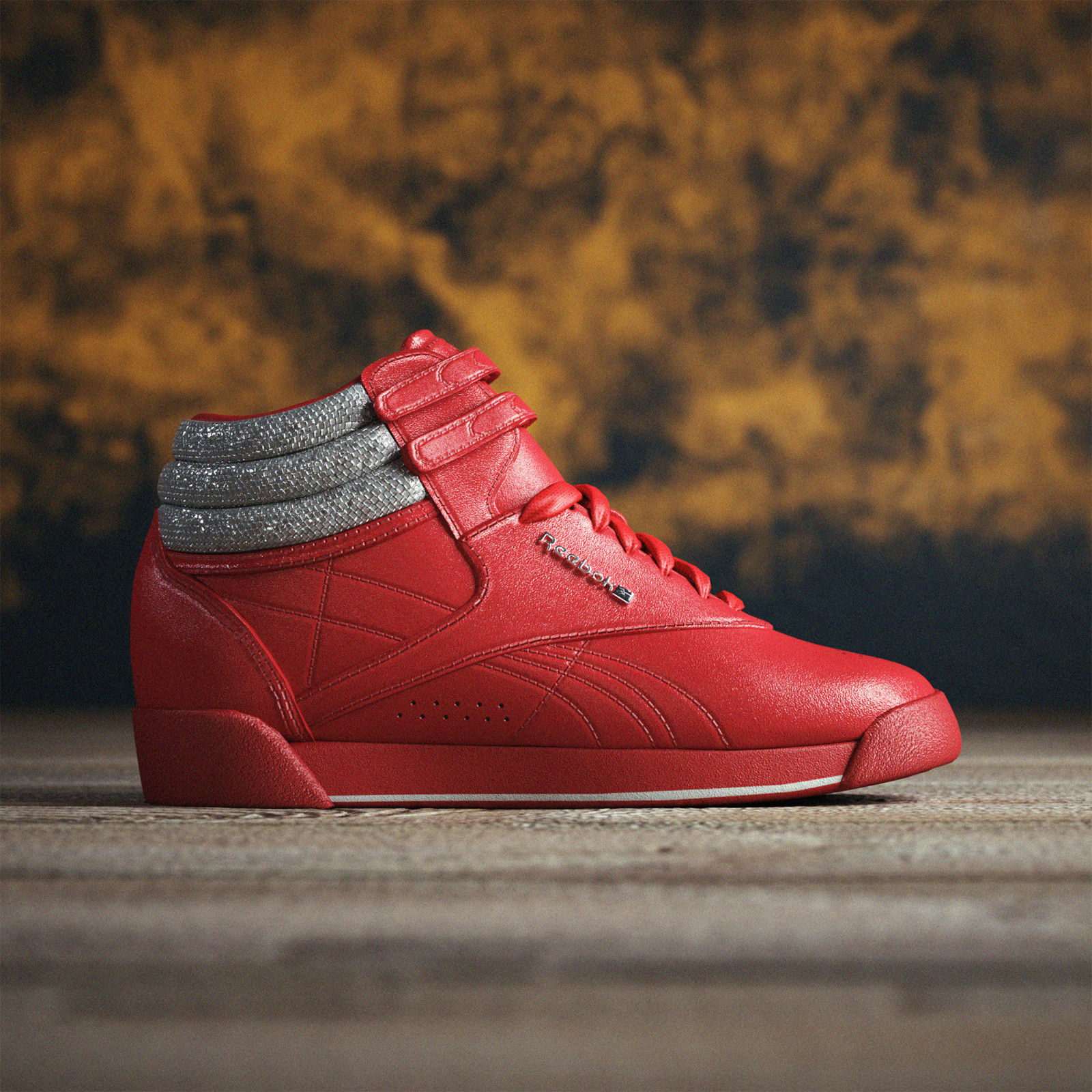 Reebok High Red