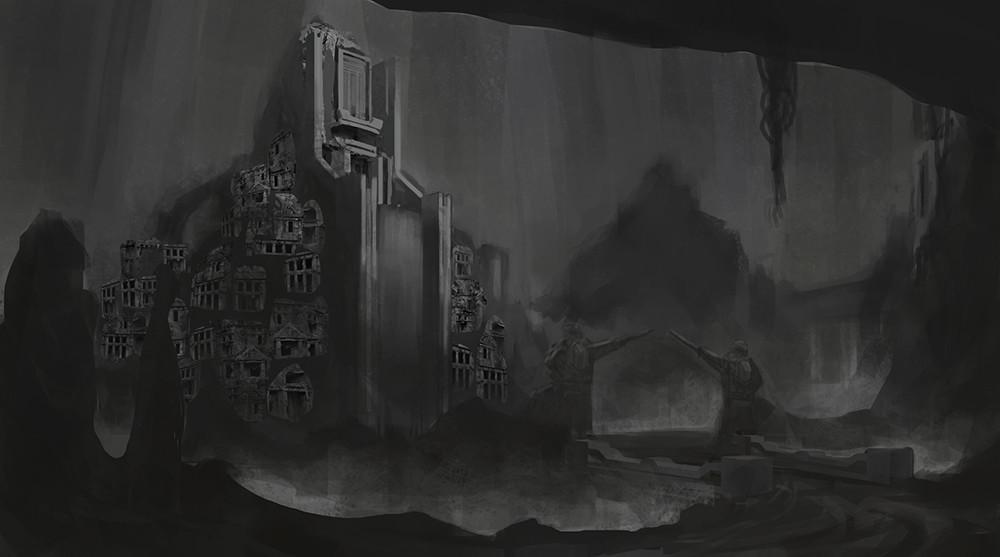 Finalising grey scale image