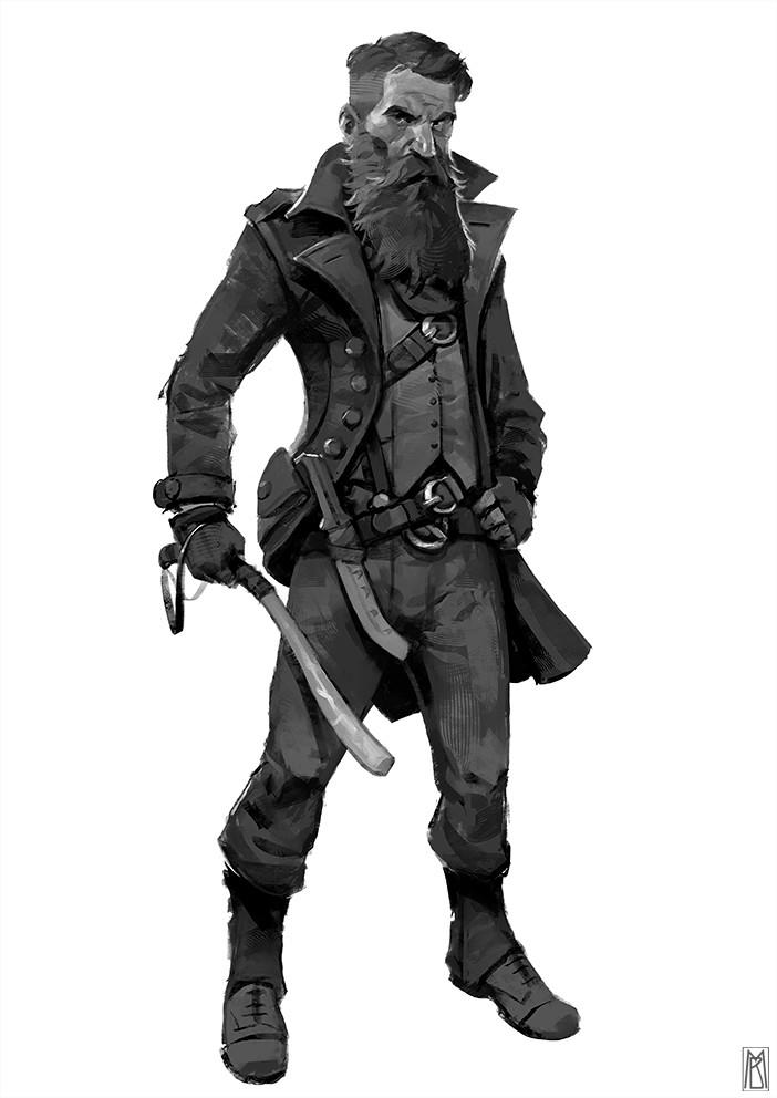 Borislav mitkov trapper sketch2