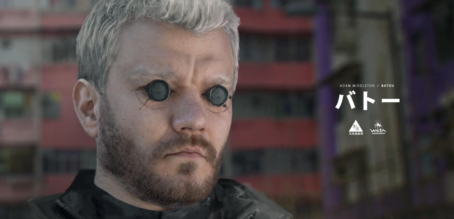 Batou's eye augmentation