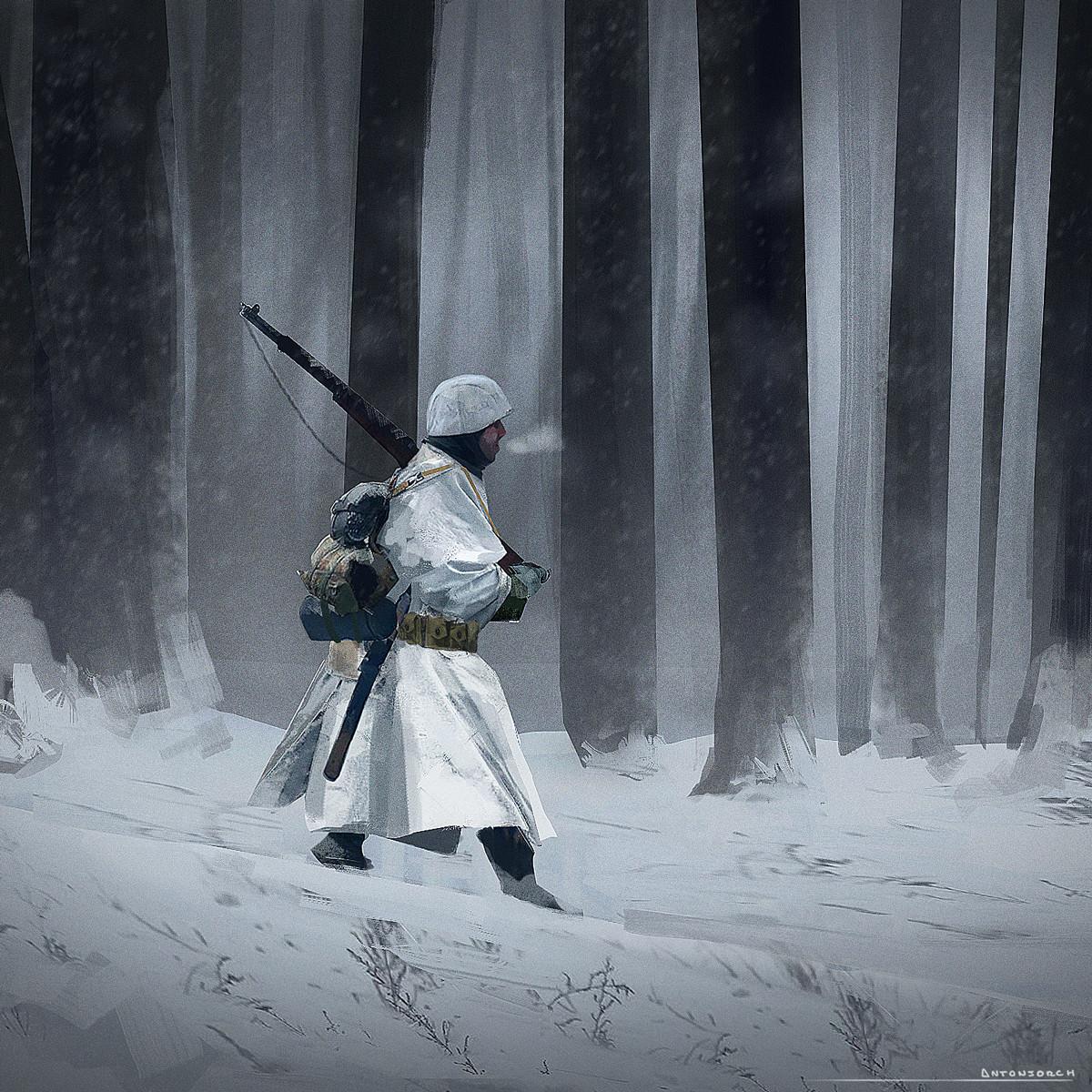 Jorge gonzalez snow soldier