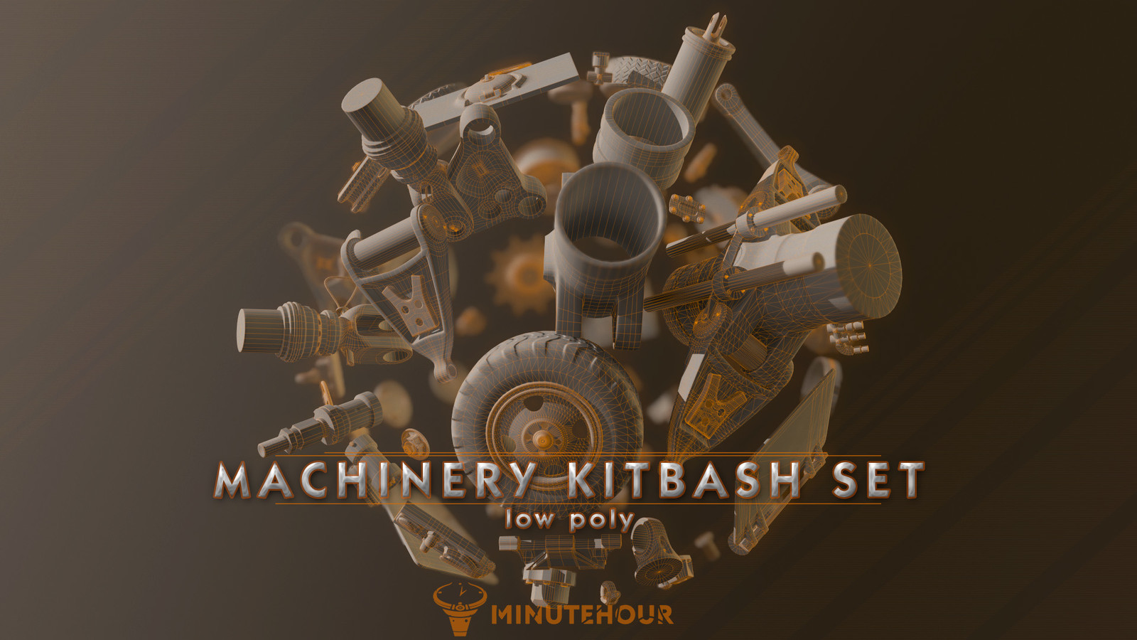 Machinery Kitbash set