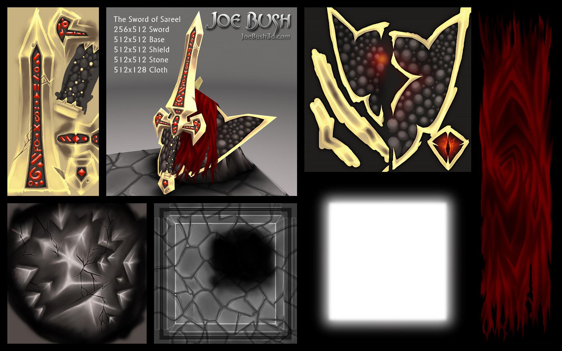 Joe bush swordofsareel textures