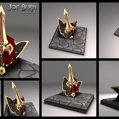 Joe bush swordofsareel renders
