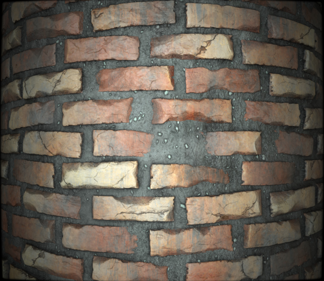 BrickWall Substance Designer