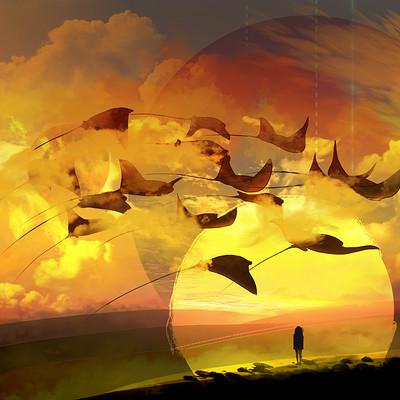 Arthur tribuzi sunset ray