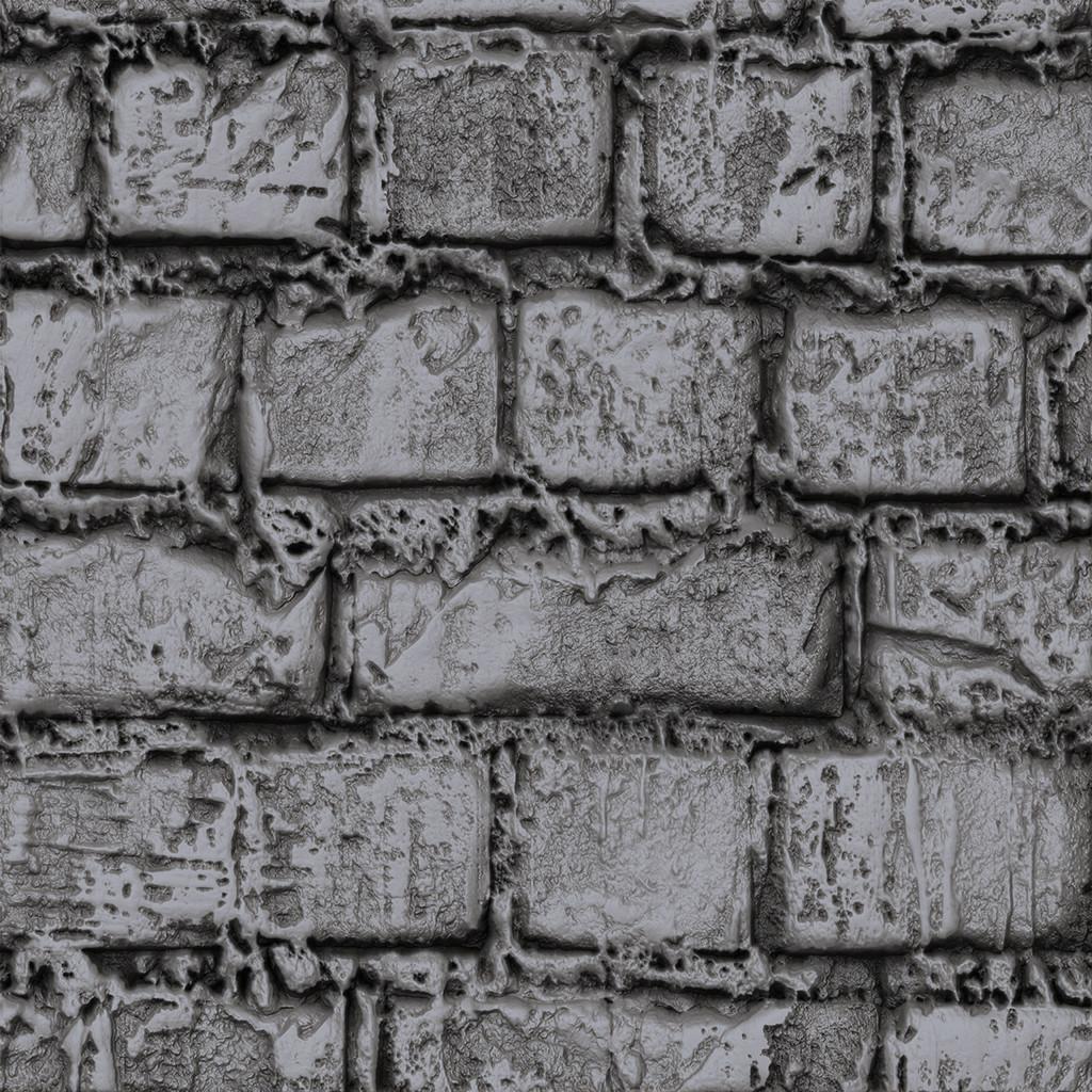 Mortar Brick Sculpt - Study 01