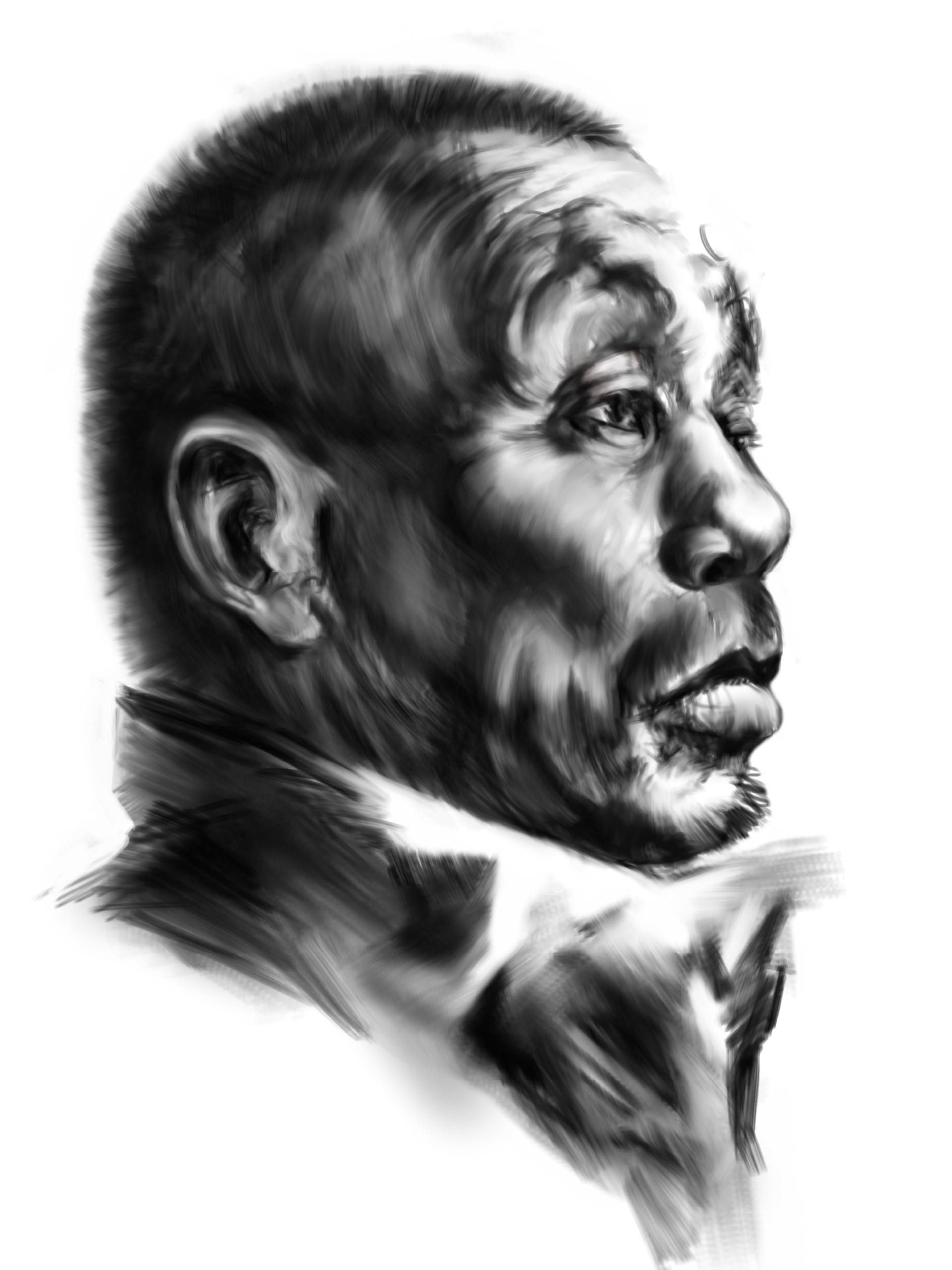 Szilagyi szilard portrait of an old manbw