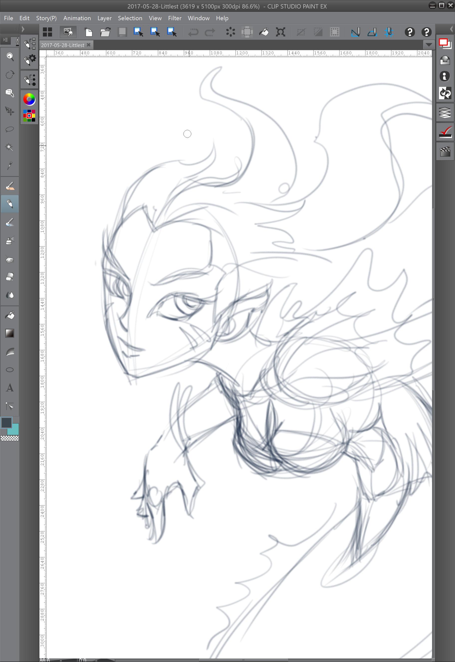 02 - Sketching in details