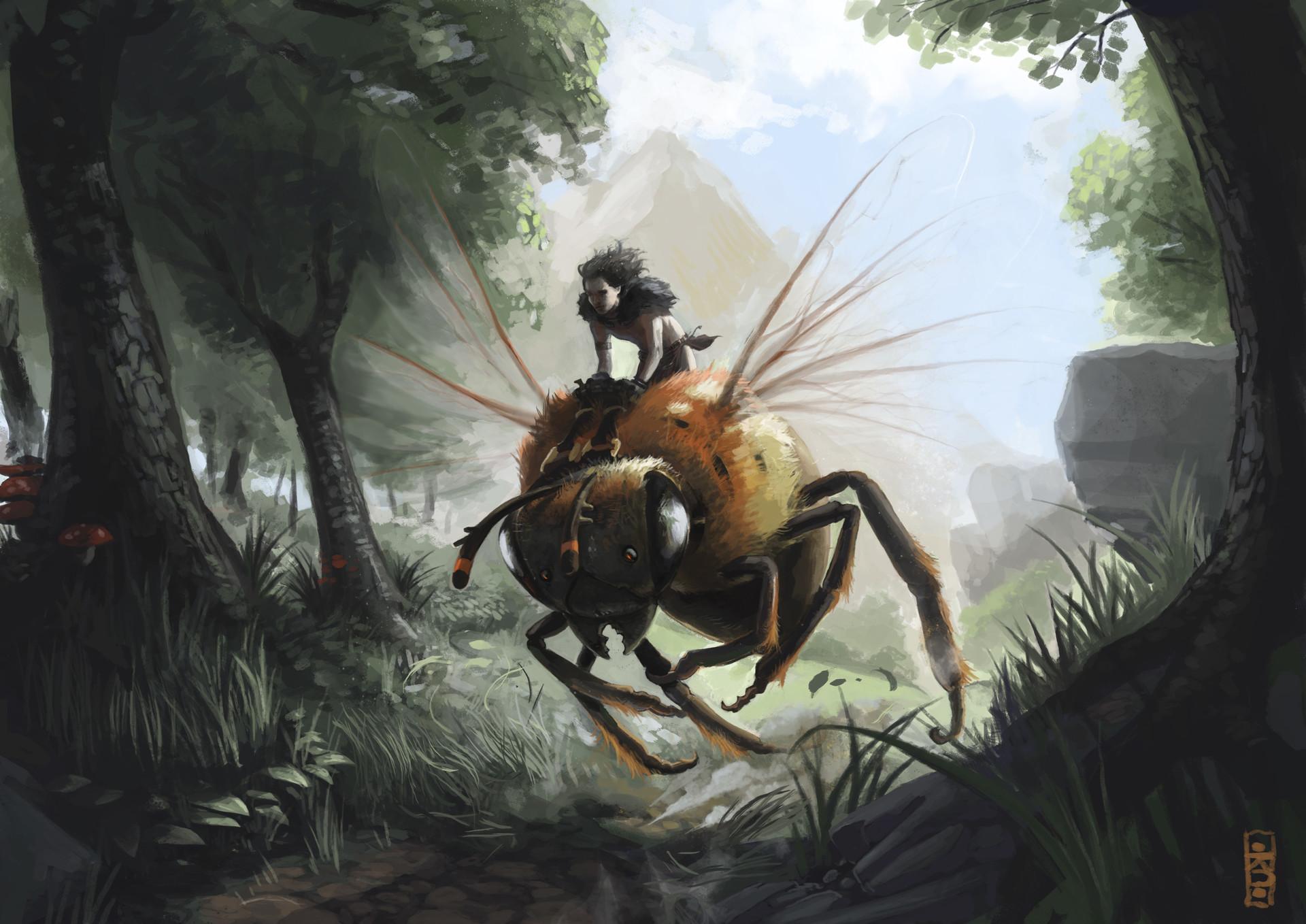 Bee trainer