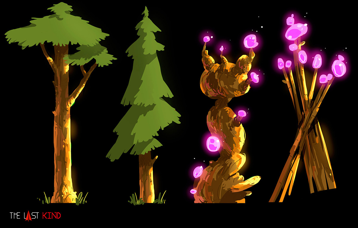 Tokkun studio assets trees2 edenb