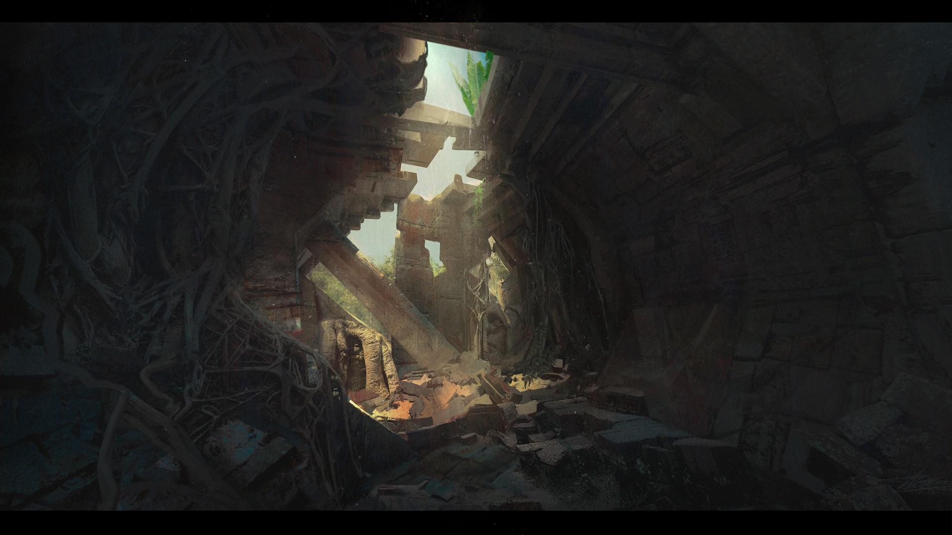 Pablo dominguez 2017 ruins holes
