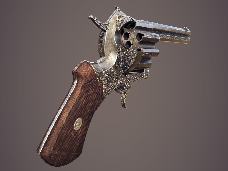 20-round Revolver