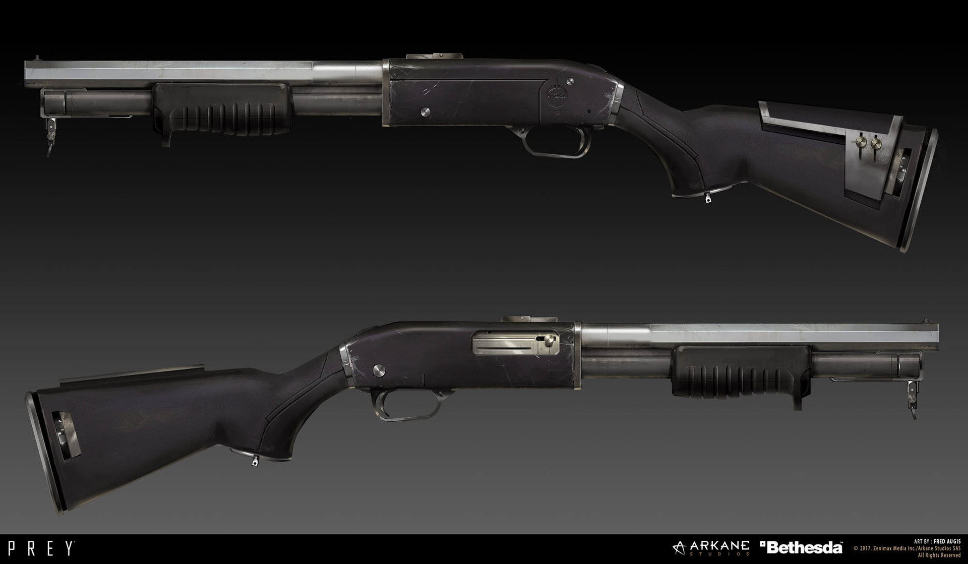 Fred augis weapons 1