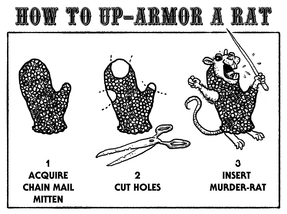 How to Up-Armor a Rat