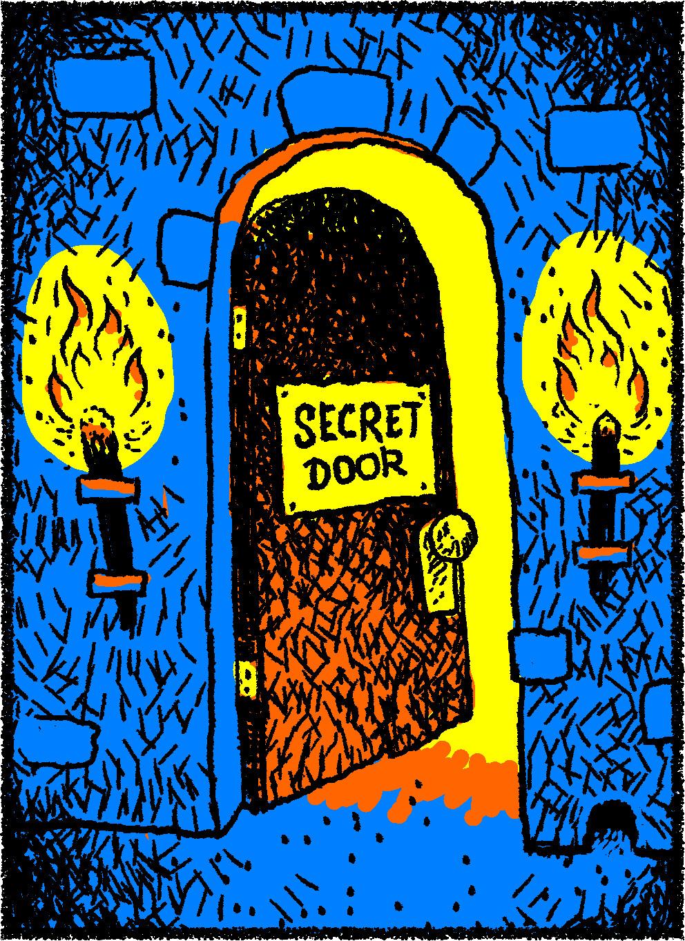 """""""Secret"""" Door"""