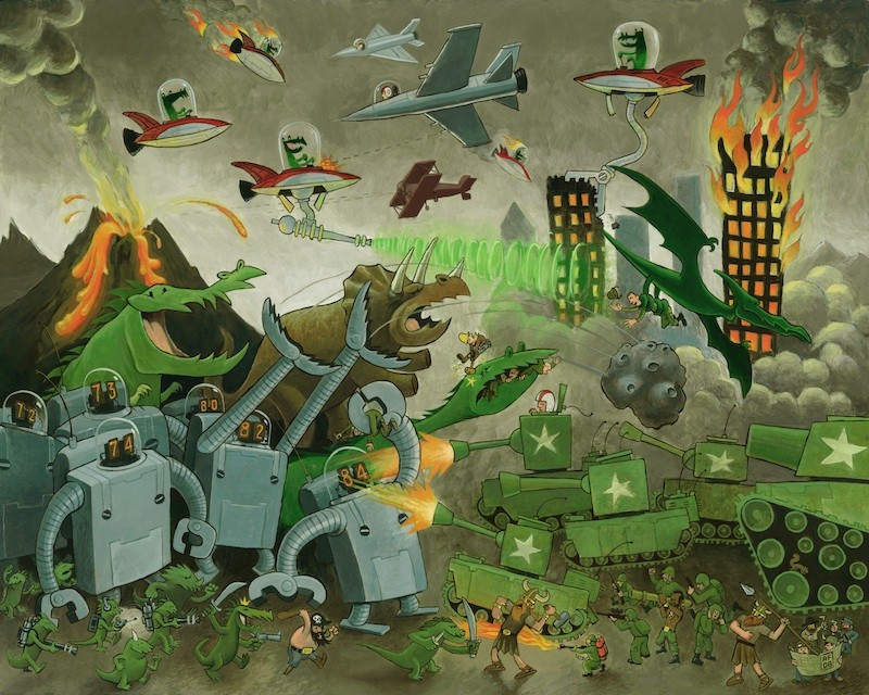 Saurian Apocalypse 01