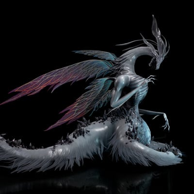 Seath the Scaleless - Dark Souls I