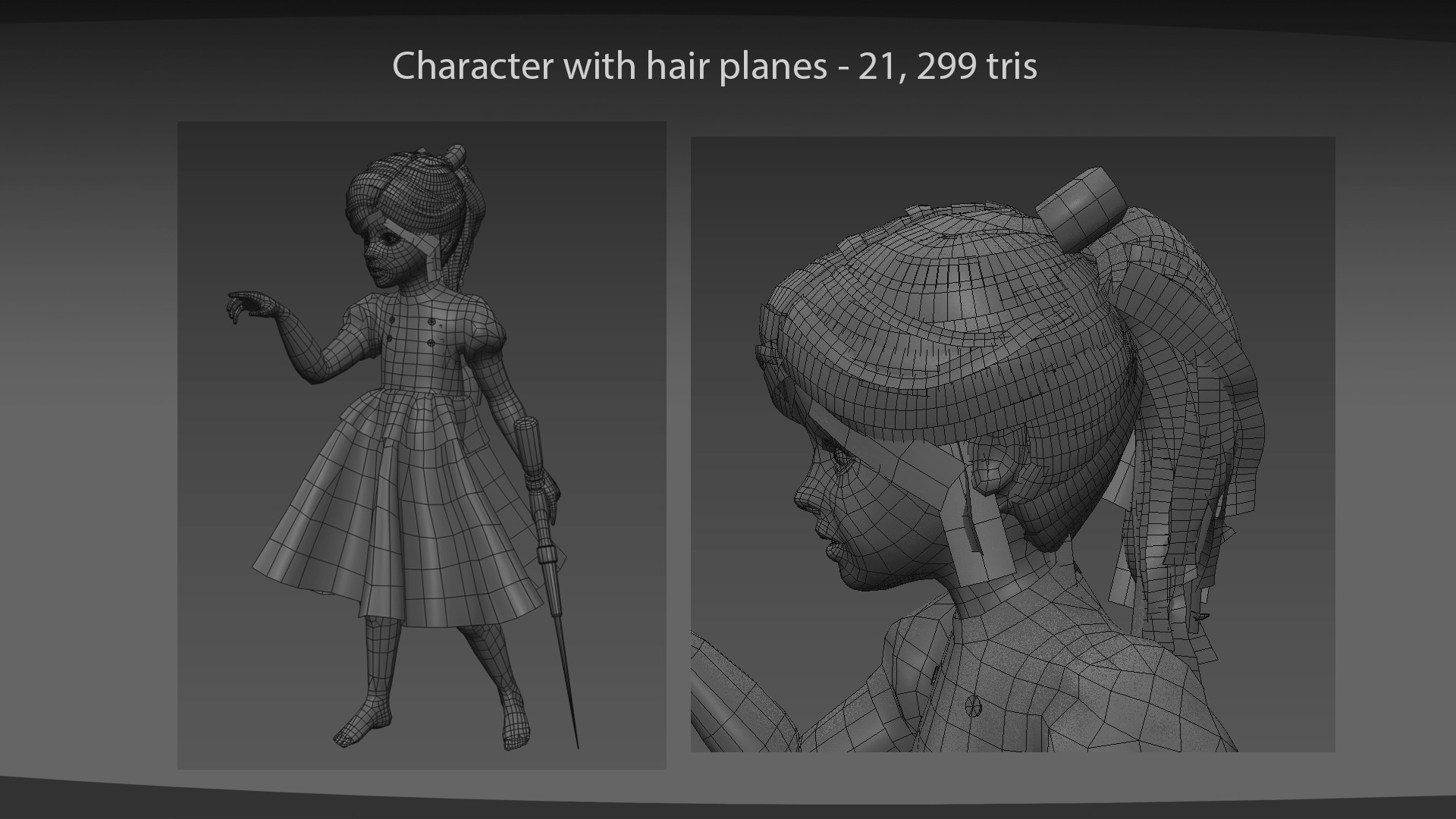 Shannon symonds character wireframe