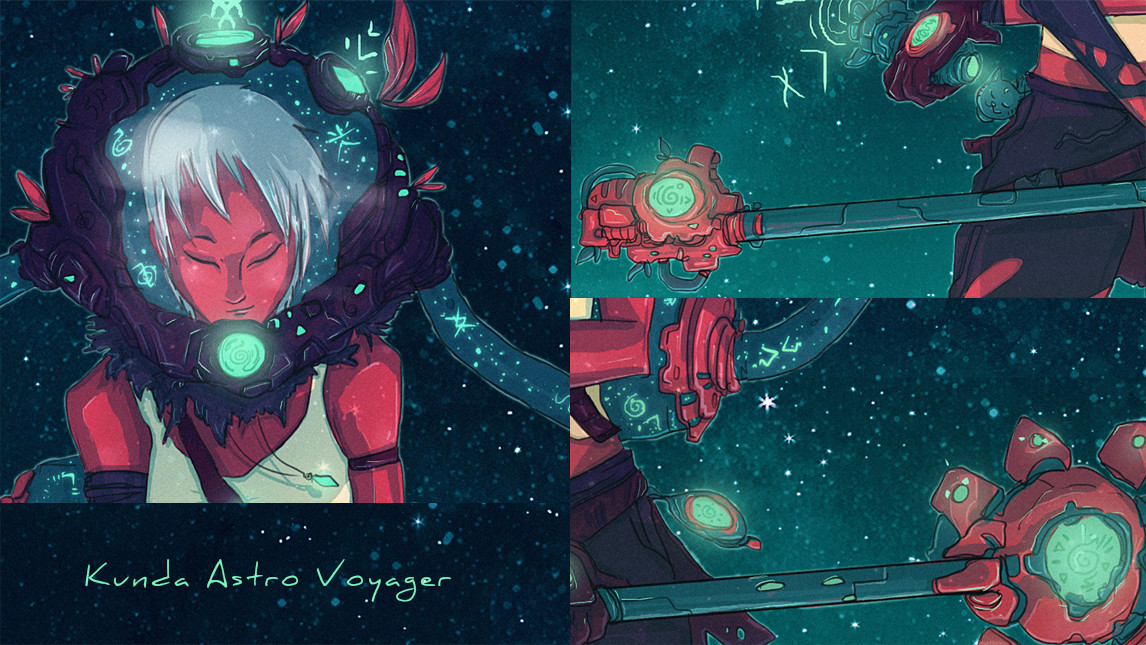 Christian benavides kunda space voyager closeups x