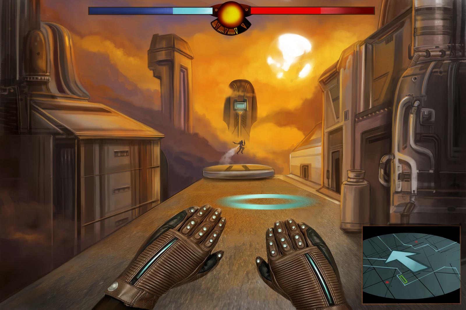 Gameplay Screen Concept Art