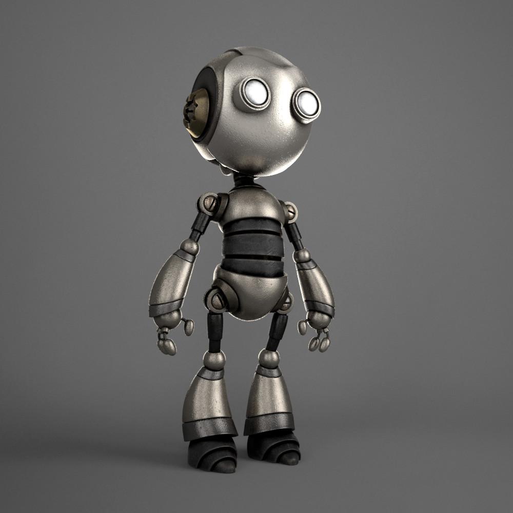 Marc virgili robot textured01