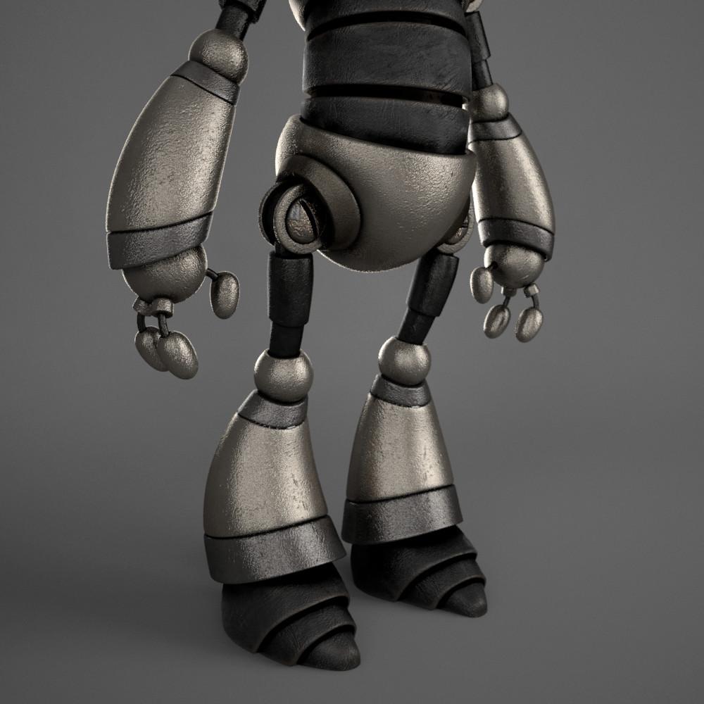 Marc virgili robot textured03