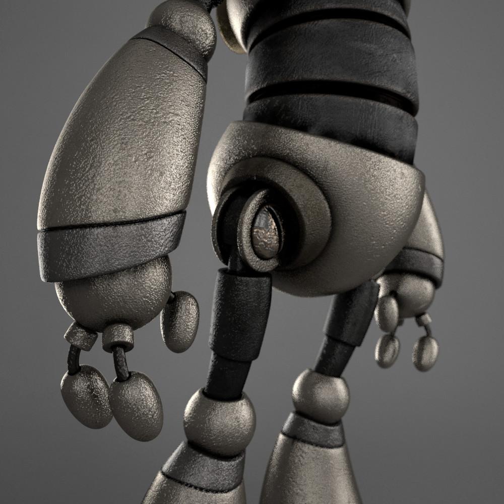 Marc virgili robot textured05