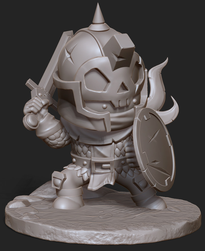 Douglas silva douglas silva skull knight animot dougsilva render
