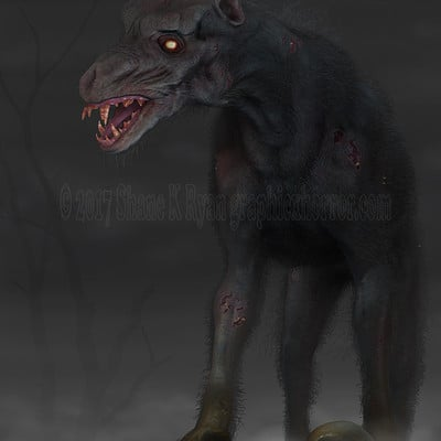 Shane ryan zombie dog