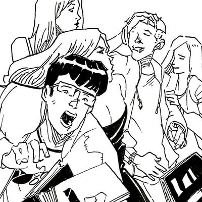 Albertus tyasseta superman page 1