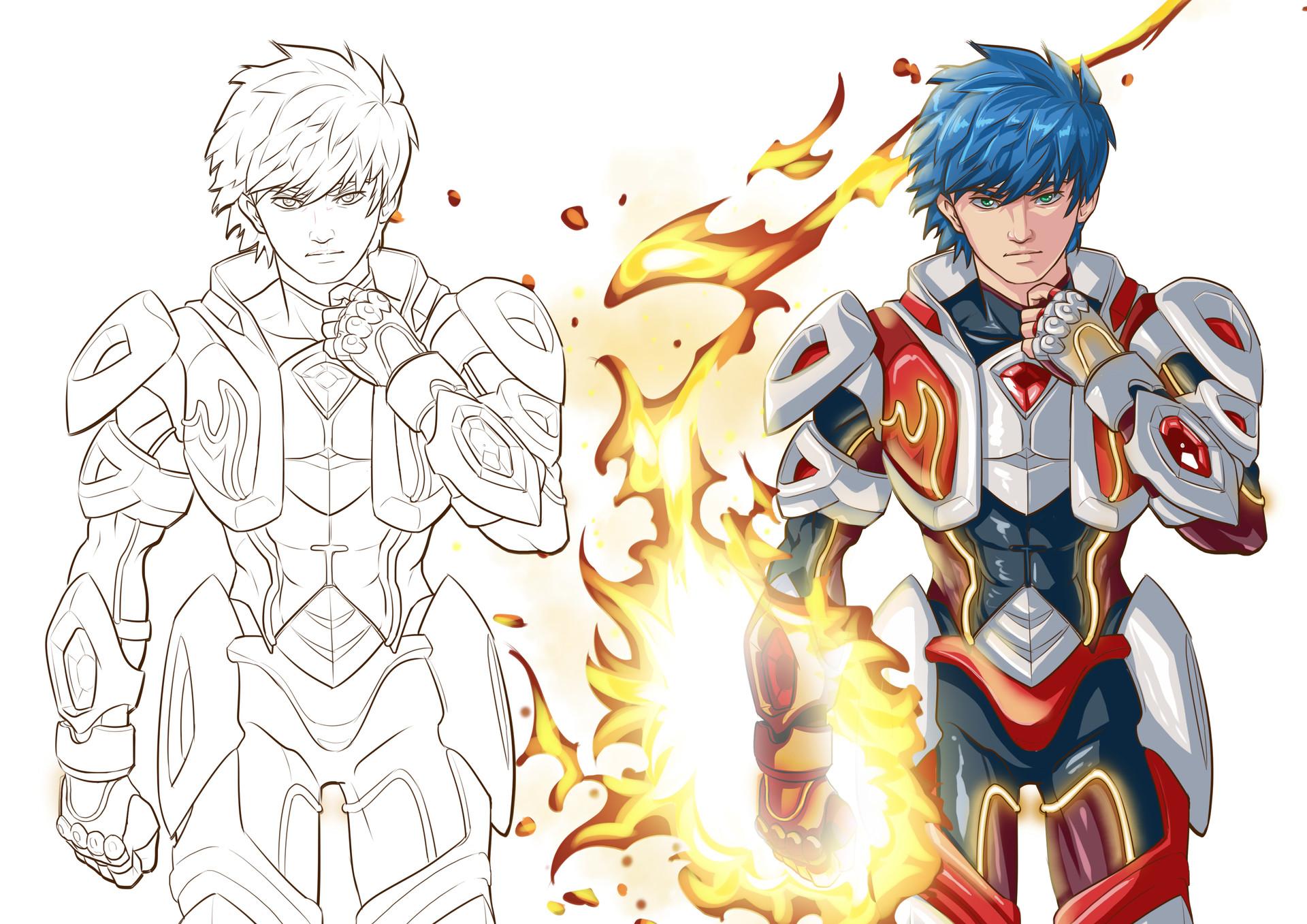 Hendy Setiawan Dragon Wings Character 1