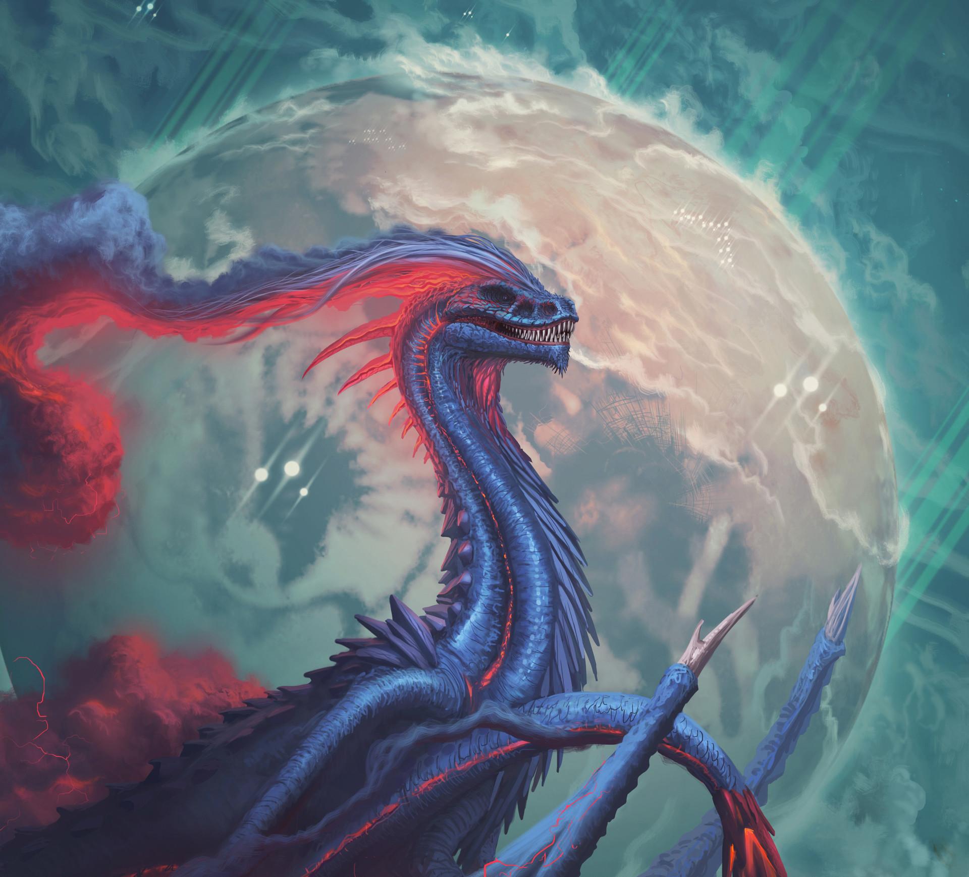 Francisco badilla floyd dragon sketch bueno 11