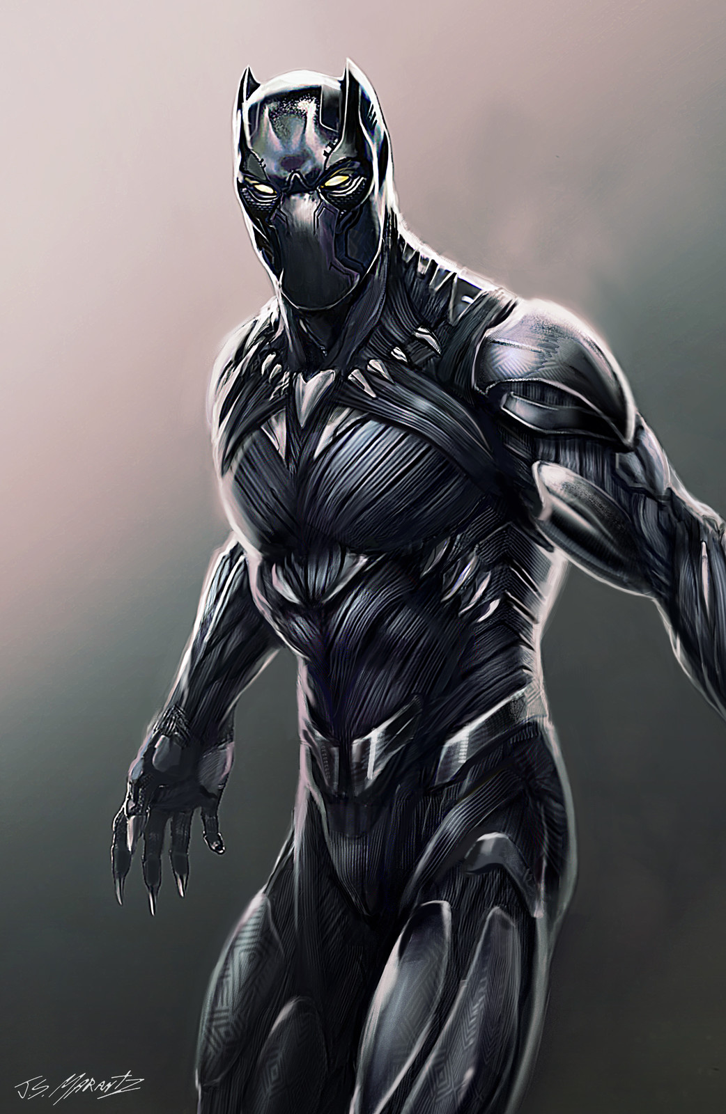 Black Panther Designs for Captain America Civil War