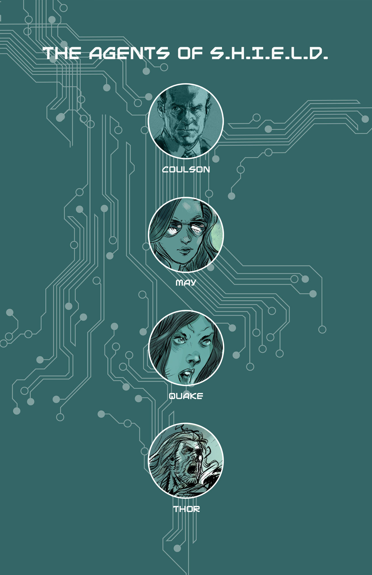 Page 8 - Agents Of S.H.I.E.L.D line up
