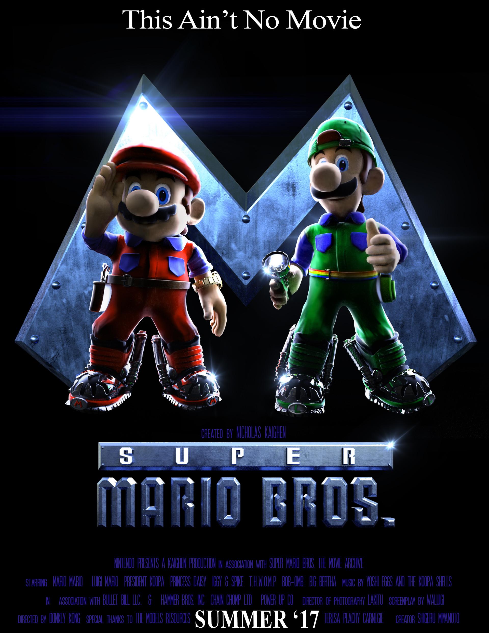 Artstation Super Mario Bros The Movie The Game Nicholas Kaighen