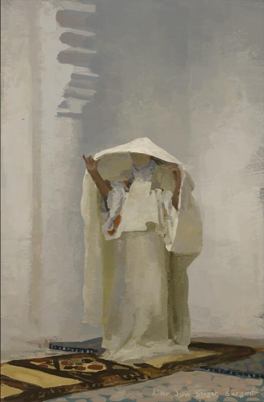 Study after John Singer Sargent
