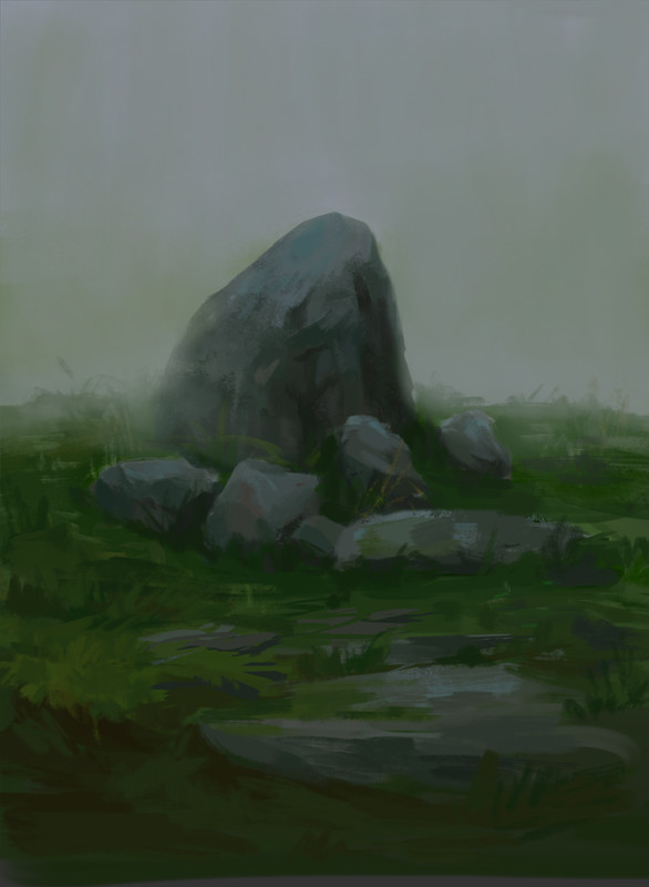 Rock sketch