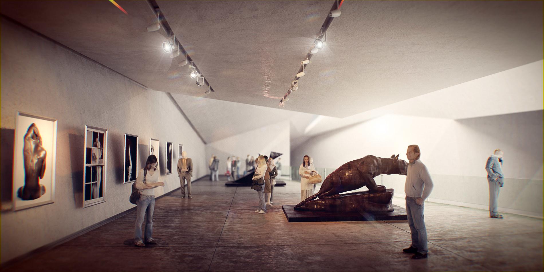 Bruno bolognesi sala del museo by bman2006