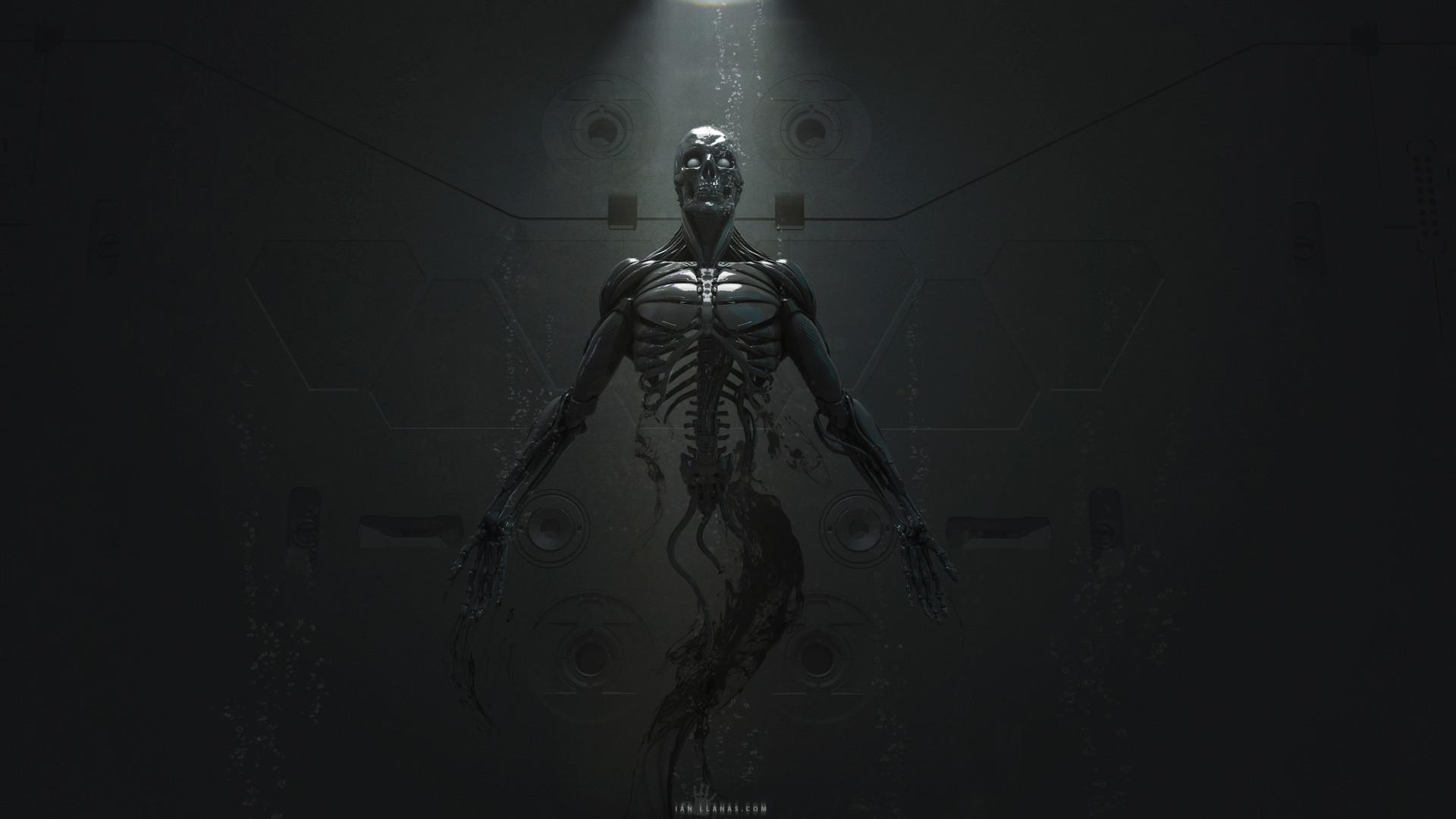 Ian llanas robotbirthwallpaper