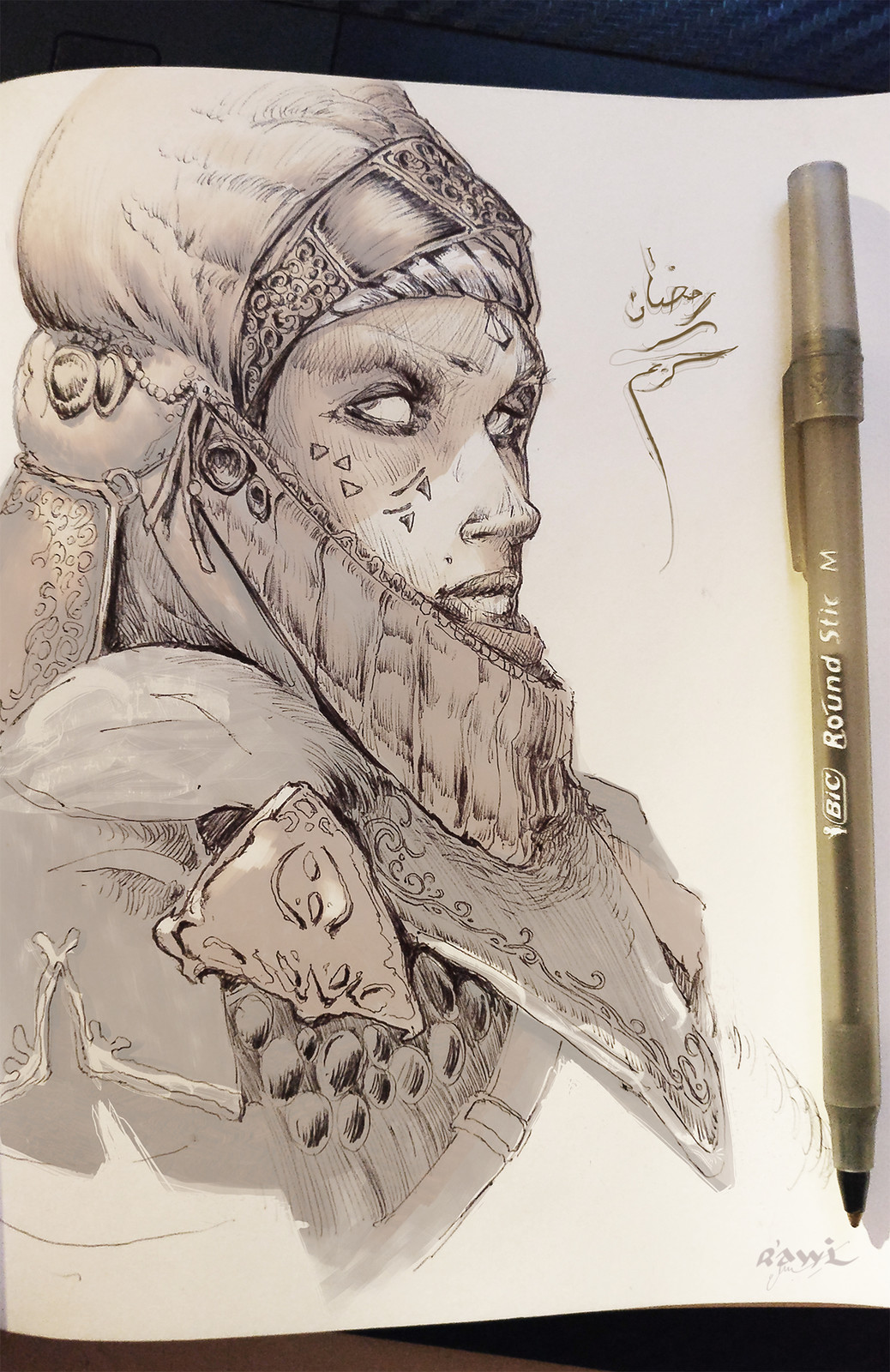 Character sketch