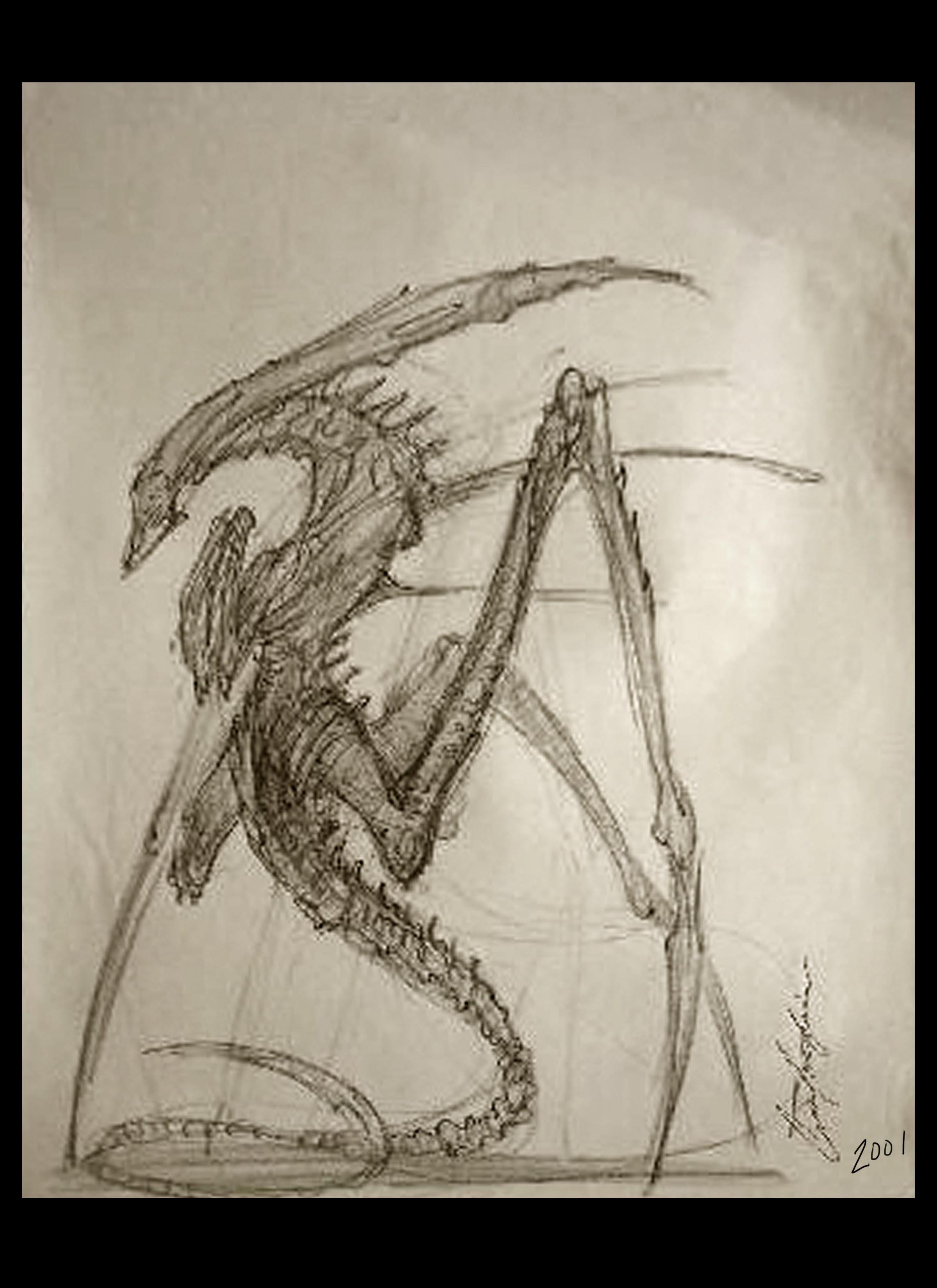 Alien Queen design 02