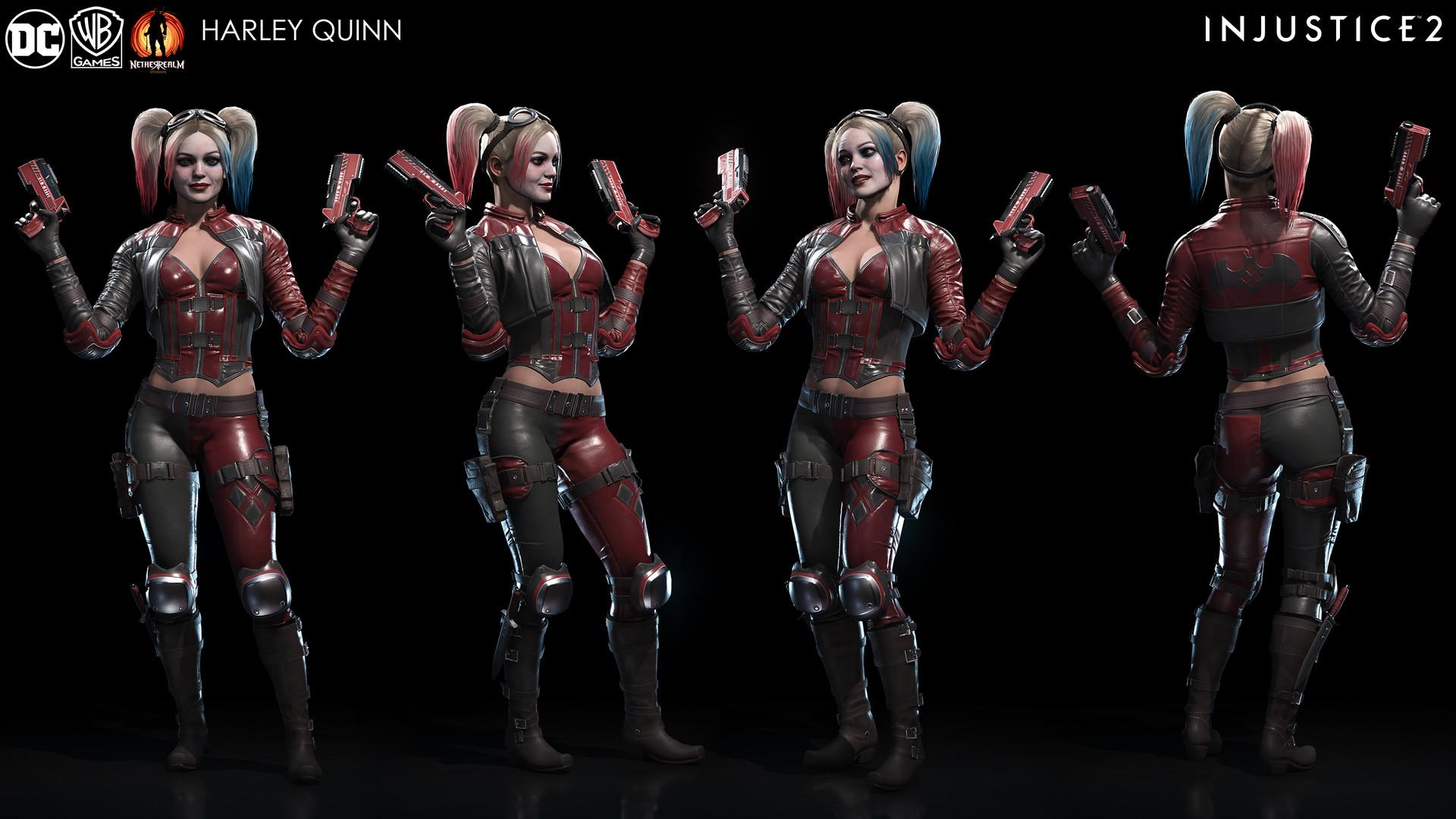 Artstation Injustice 2 Harley Quinn Solomon Gaitan