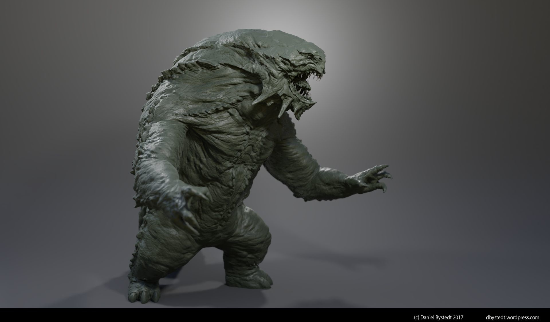 Daniel bystedt monster 2 clay