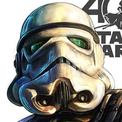 Shane molina stormtrooper 40thanniversary