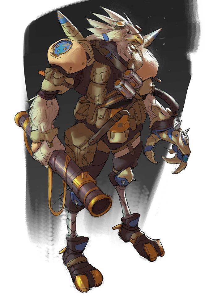 """Bazooka"" second character of Animal Killdom, hellyeah!"